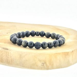 armband-bracelet-obsidiaan-obsidian-golden-gouden-lava