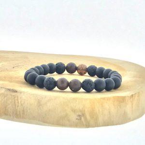armband-bracelet-onyx-matt-boji-lava