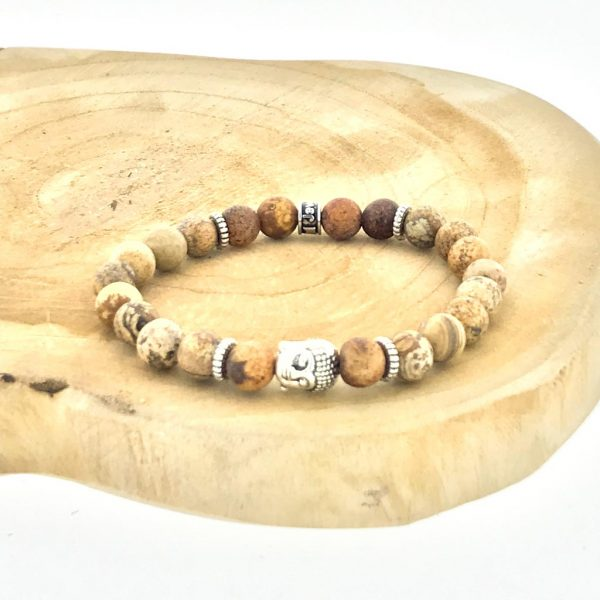armband-bracelet-picture-jasper-buddha-landschaps-jaspis-boji