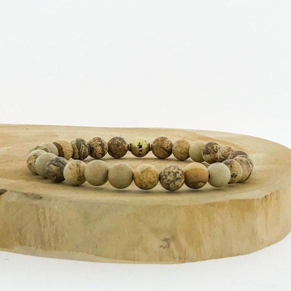 armband-bracelet-picture-jasper-landschaps-jaspis-puur