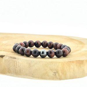 armband-bracelet-red-tigerseye-tijgeroog-hematite-hematiet