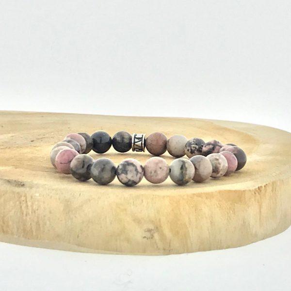armband-bracelet-rhodonite-rhodoniet-puur