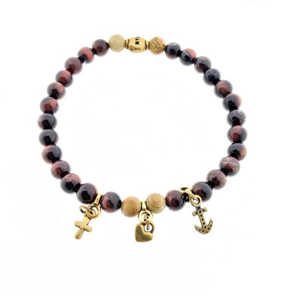 armband-bracelet-rood-red-tijgeroog-tigerseye-camel-jasper-jaspis-charms