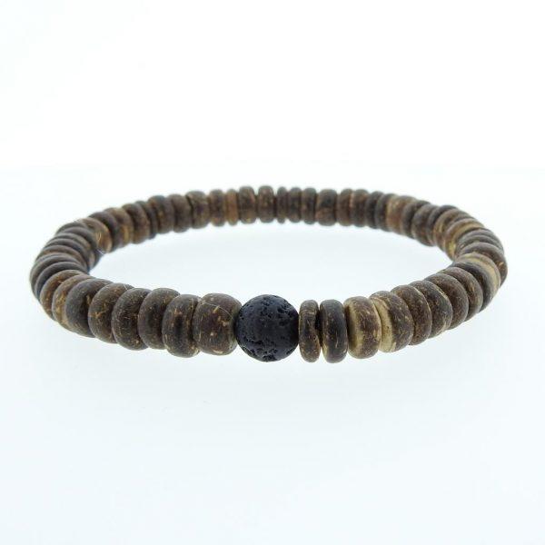 bracelet-natural-kokos-discs-lava