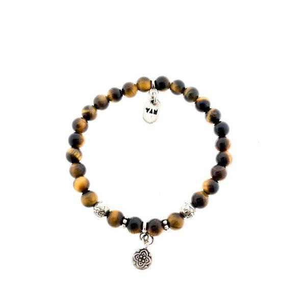 armband-tijgeroog-bracelet-tigerseye-silver-charm