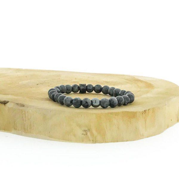 armbanden-bracelet-6mm-black-labradorite-hematite