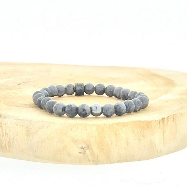 armbanden-bracelets-6mm-Black-Labradorite-hematite