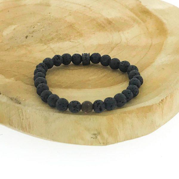 armbanden-bracelets-6mm-Boji-lava