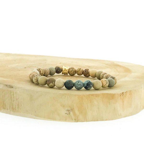 armbanden-bracelets-6mm-african-turquoise-picture-jasper