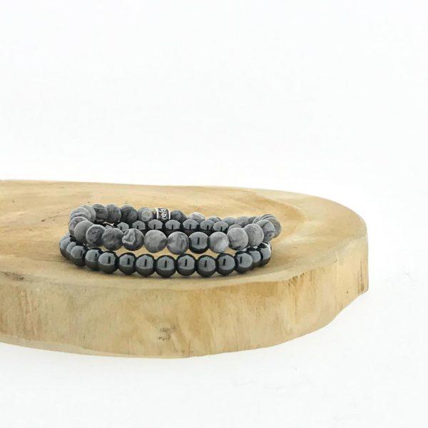 combo-armbanden-bracelet-6mm-hematite-hematiet-jasper-jaspis