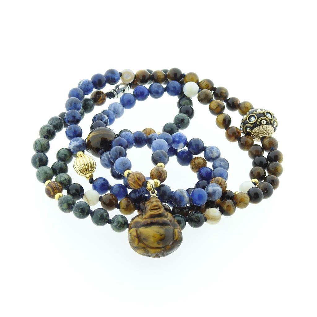 108 mala custom made with her own Buddha
