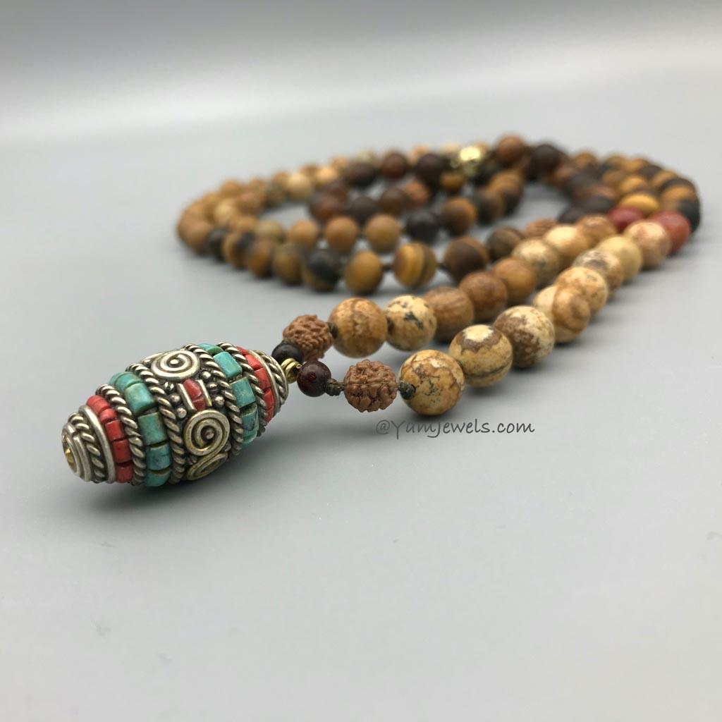 108 mala Custom made