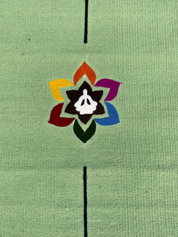 yogamat-cotton-light-green