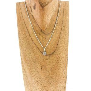 necklace-halsketting-faceted-rose-quartz-geslepen-rozenkwarts-sterling-silver-pendant-hanger