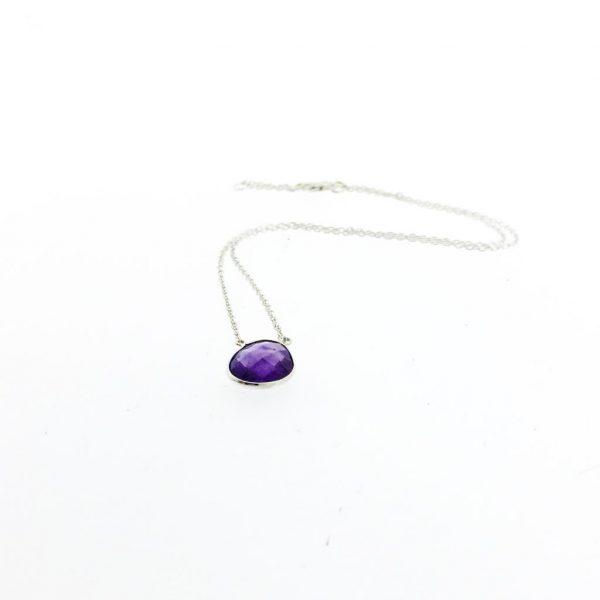 necklace-halsketting-sterling-silver-amethist-amethyst