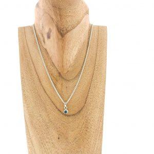 necklace-rozenkwarts-rose-quartz-halsketting-sterling-silver
