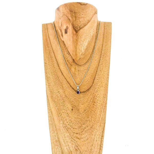 pendant-necklace-hanger-sterling-silver-amethist-amethyst