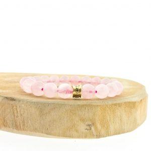 bracelet-8mm-rozenkwarts-rosequartz-yamjewels