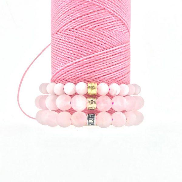 bracelets-combo-matt-rozenkwarts-rose-quartz-yamjewels