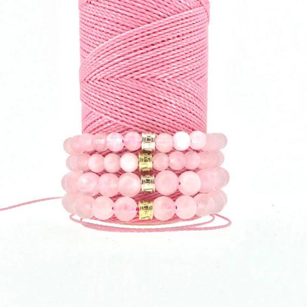 bracelets-matt-rozenkwarts-6mm-8mm-rosequartz