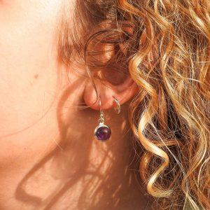 oorringen-model-earrings-amethyst-amethist-round-rond-925-yamjewels
