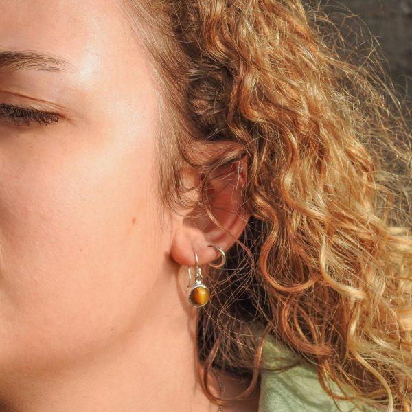 oorringen-model-earrings-tigereye-tijgeroog-925-rond-yamjewels