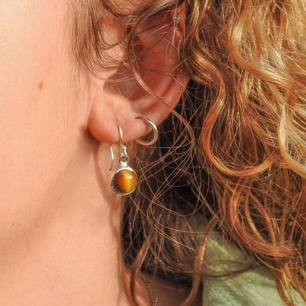 oorringen-model-earrings-tijgeroog-tigerseye-925-yamjewels