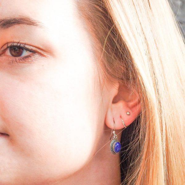 oorringen-model-earrings-lapis-lazuli-ovaal-oval-925-yamjewels