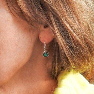 oorringen-model-earrings-malachiet-malachite-round-925-yamjewels