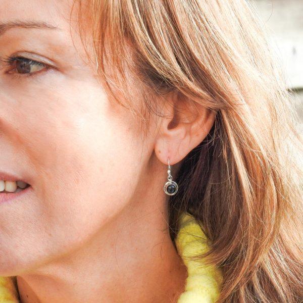 oorringen-model-earrings-onyx-round-rond-925-yamjewels
