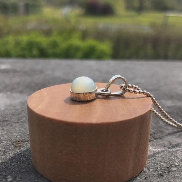 pendant-hanger-grijs-maansteen-grey-moonstone-yamjewels-8mm-925-sterling-silver