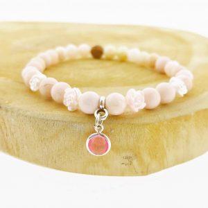 bracelet-armband-6mm-opaal-pink-opal-roze-roosjes-yamjewels