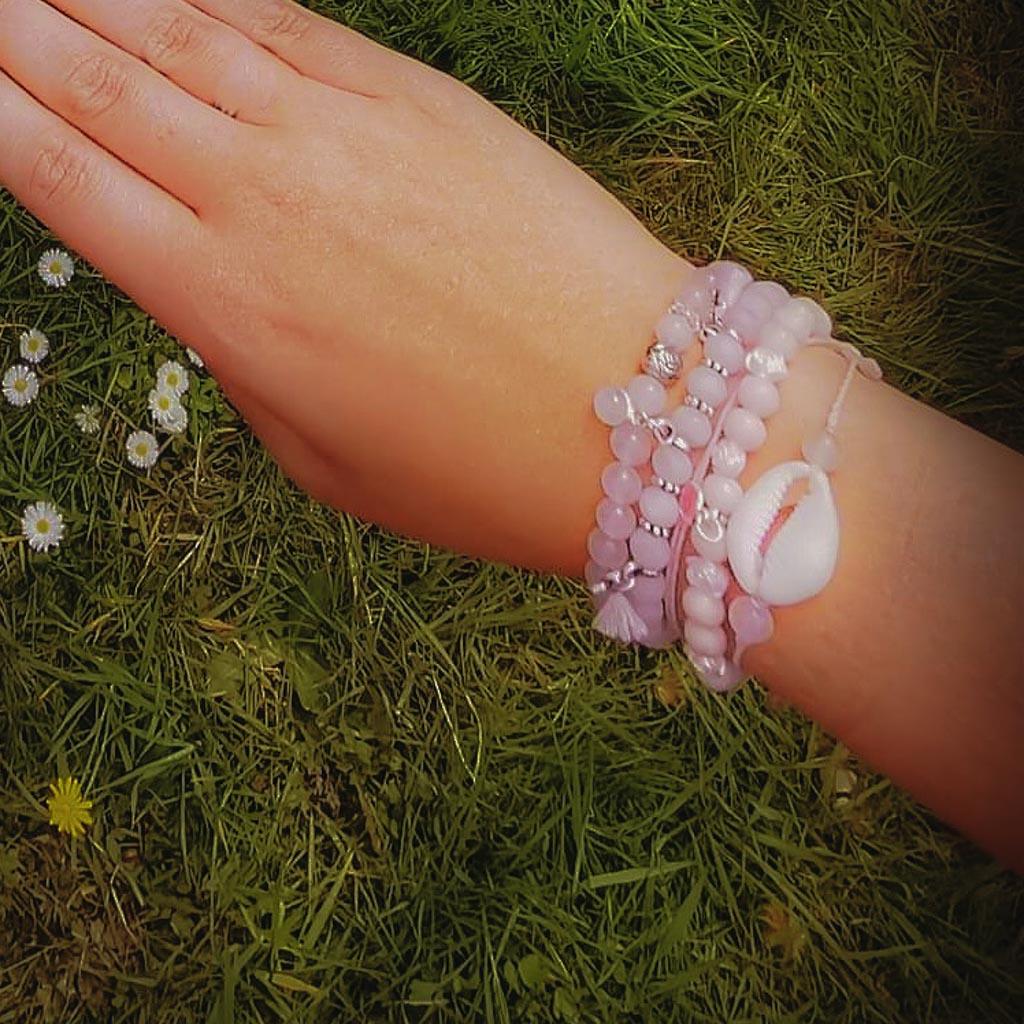 bracelets-combo-armbanden-rozenkwarts-rosequartz-moonstone-maansteen-pink-opal-opaal-roze-bergkristal-6mm