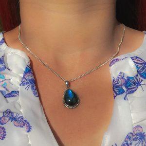 pendant-model-hanger-labradoriet-druppelvorm-labradorite-drop-925-sterling-silver-yamjewels